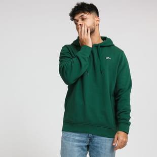 LACOSTE Hooded Fleece Sweatshirt