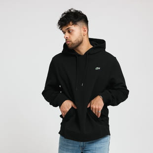 LACOSTE Hooded Fleece Sweatshirt
