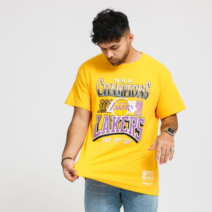 Mitchell & Ness NBA LA Lakers 3x Champions Tee