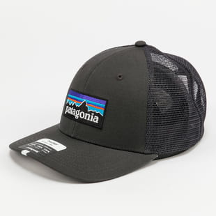 Patagonia P-6 Logo Trucker Hat Mid Crown