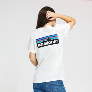 Patagonia W's P-6 Logo Organic Crew Tee