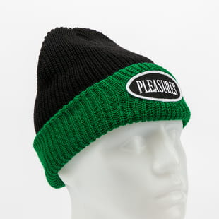PLEASURES Logo Two Tone Beanie
