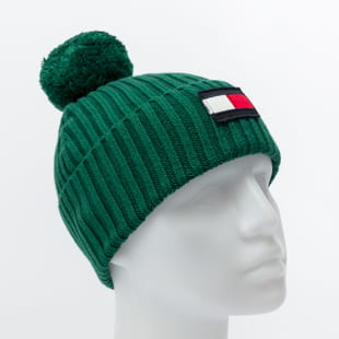 TOMMY JEANS Big Flag Beanie Pom Pom