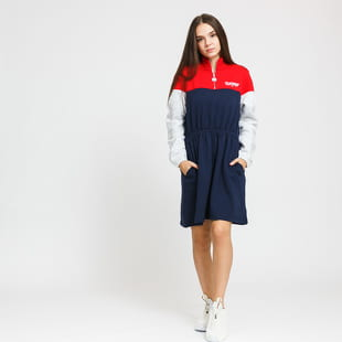 TOMMY JEANS W Colorblock Mock Neck Dress