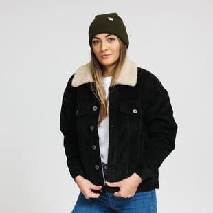 Urban Classics Ladies Oversize Sherpa Corduroy Jacket