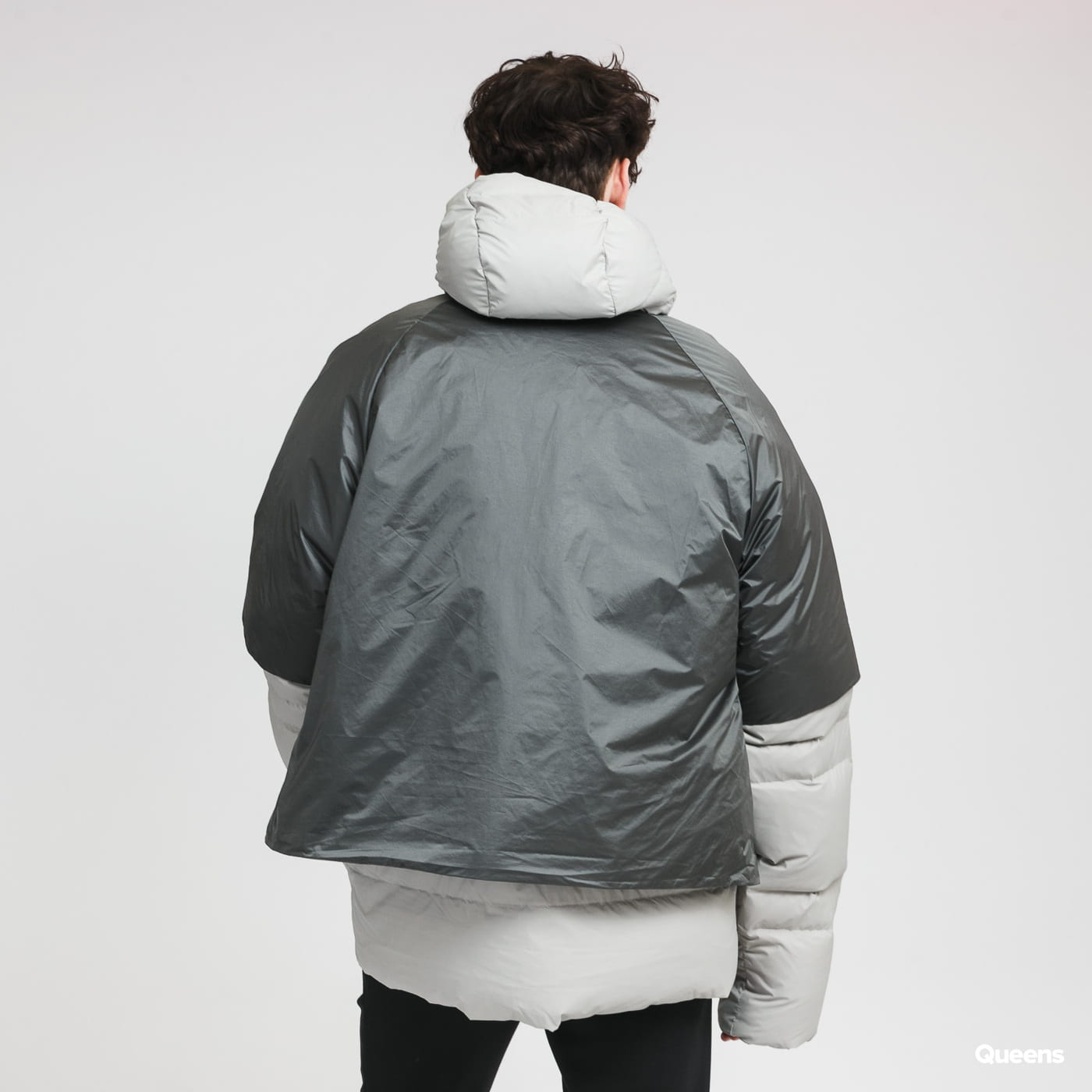 adidas Performance Down Jacket Cold.RDY dark gray / light gray