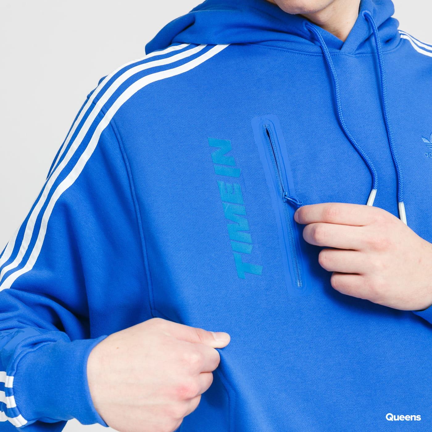 adidas Originals Ninja Hoodie modrá