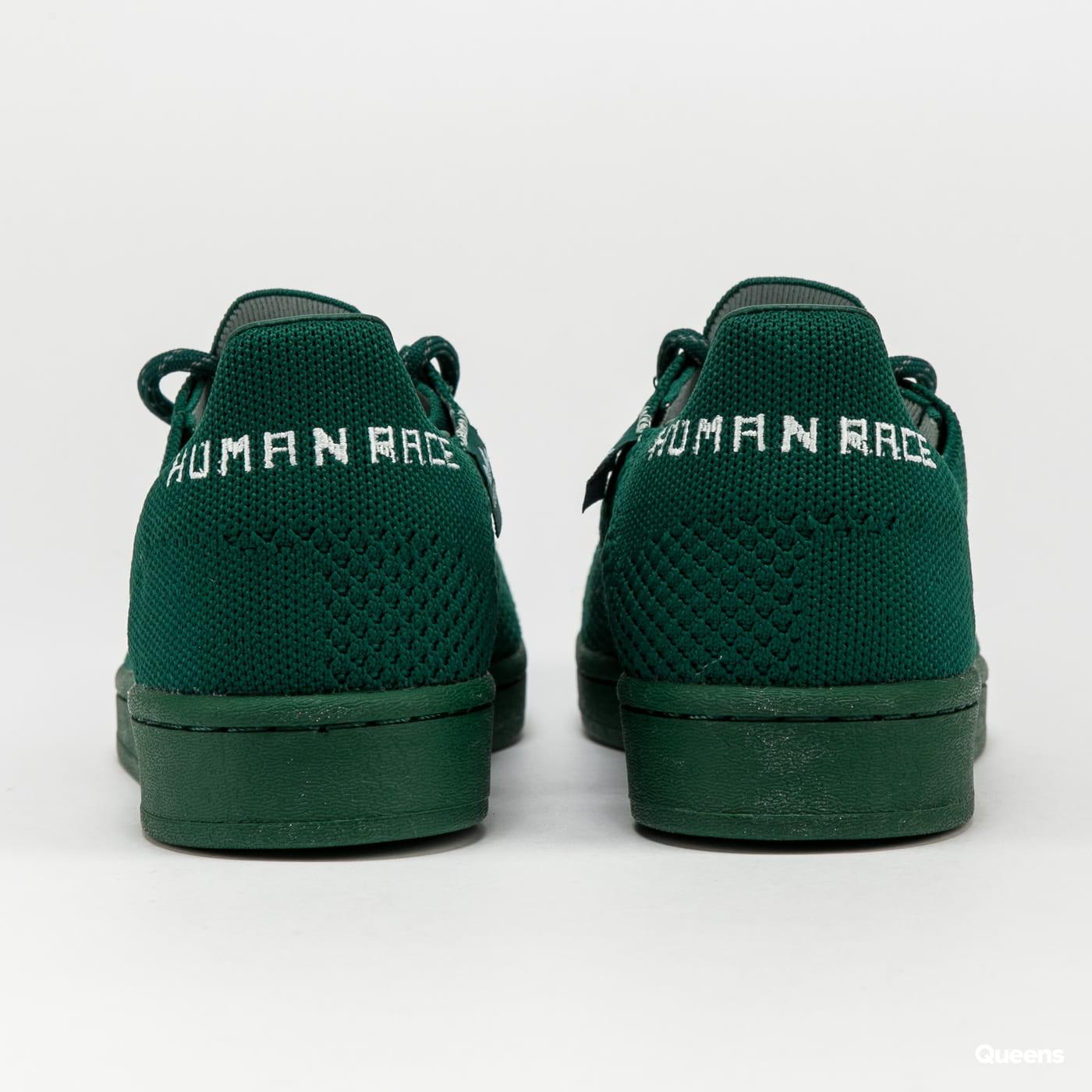 adidas Originals Pharrell Williams Superstar PK drkgrn / drkgrn / skytin