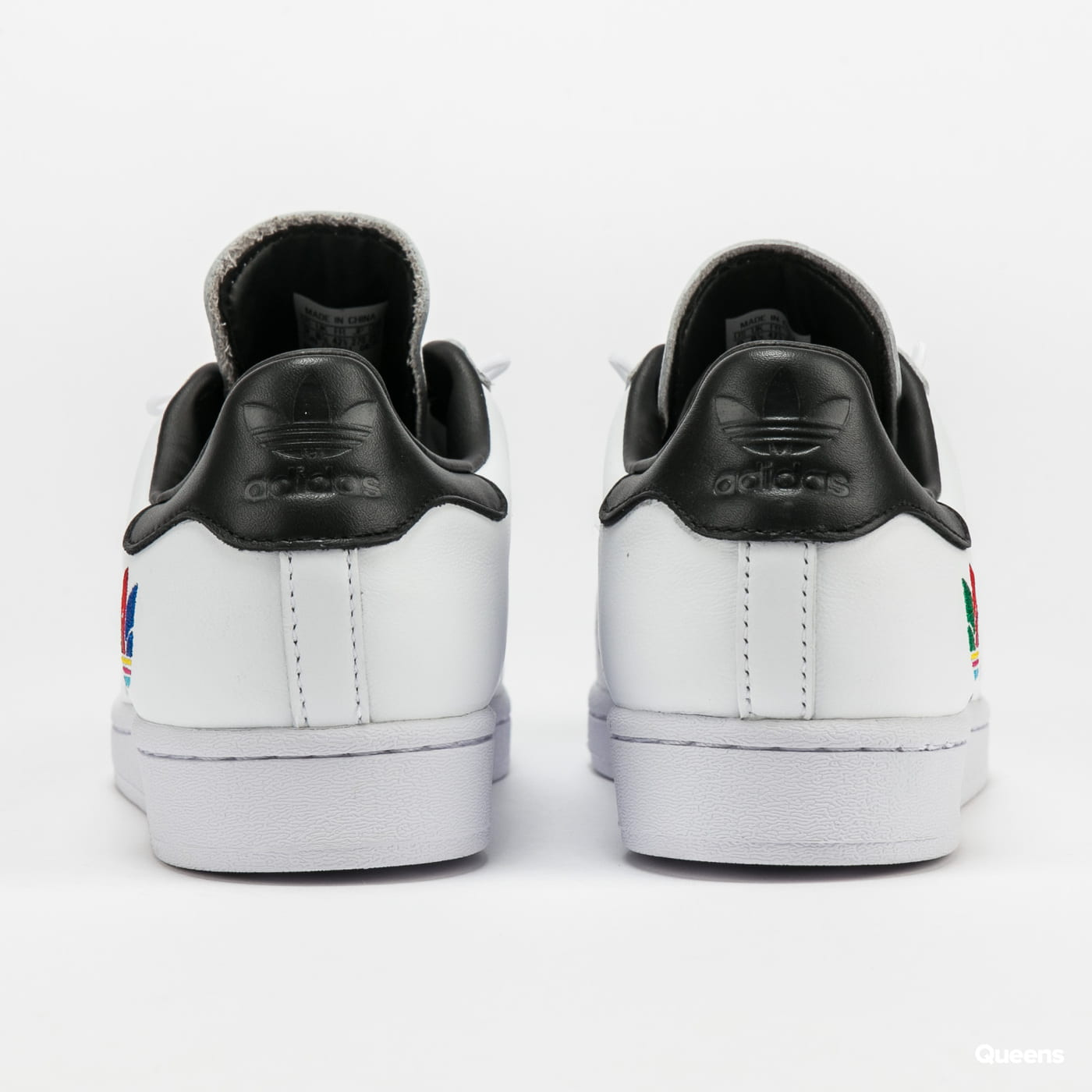 adidas Originals Superstar green / cblack / cblack