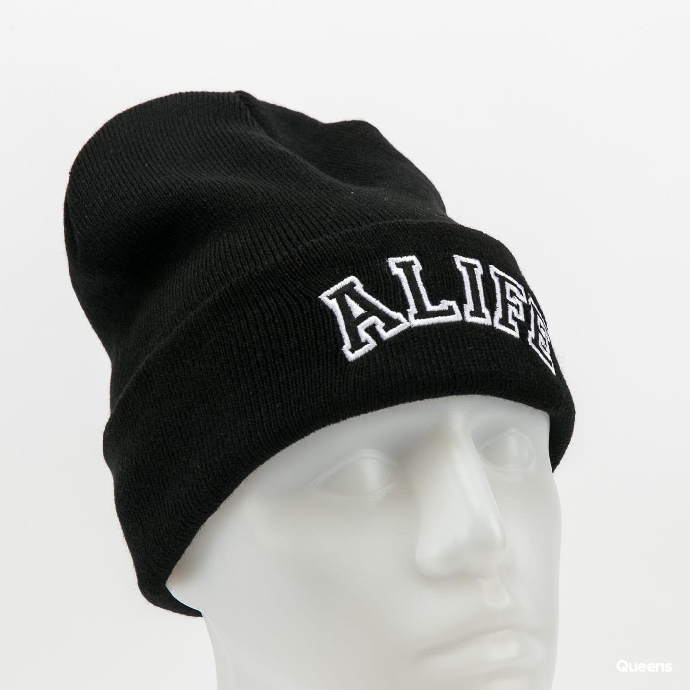 Alife Collegiate Beanie černý