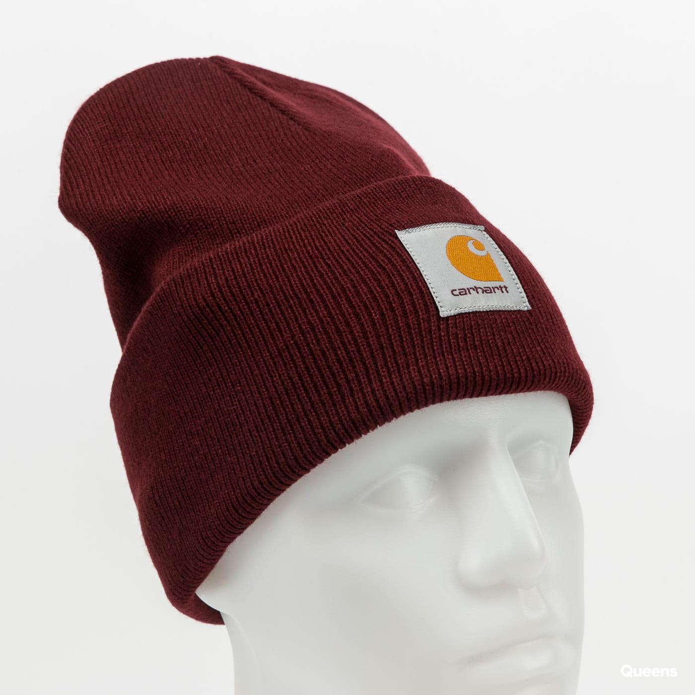 Carhartt WIP Acrylic Watch Hat bordeaux