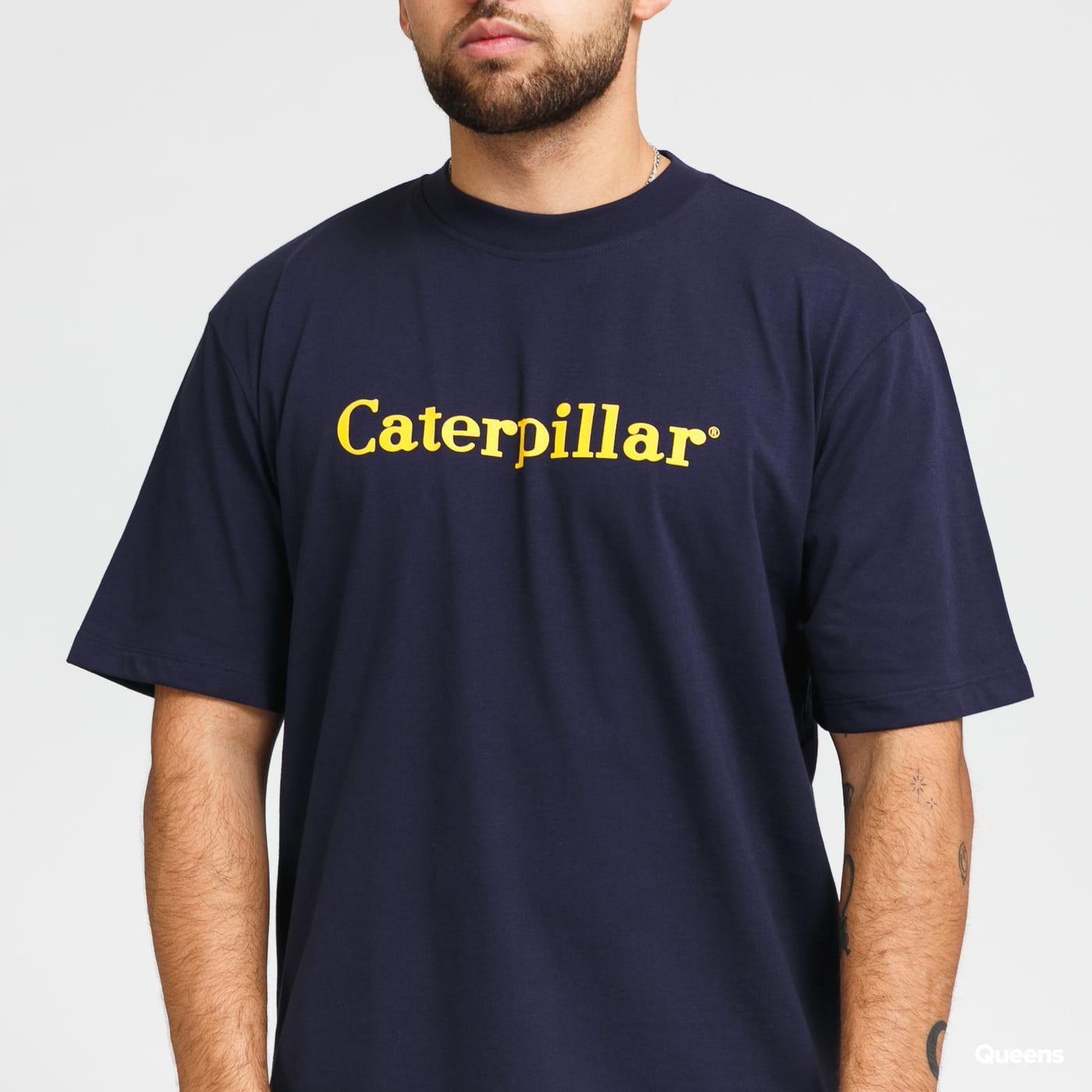 CATERPILLAR Basic Tee navy