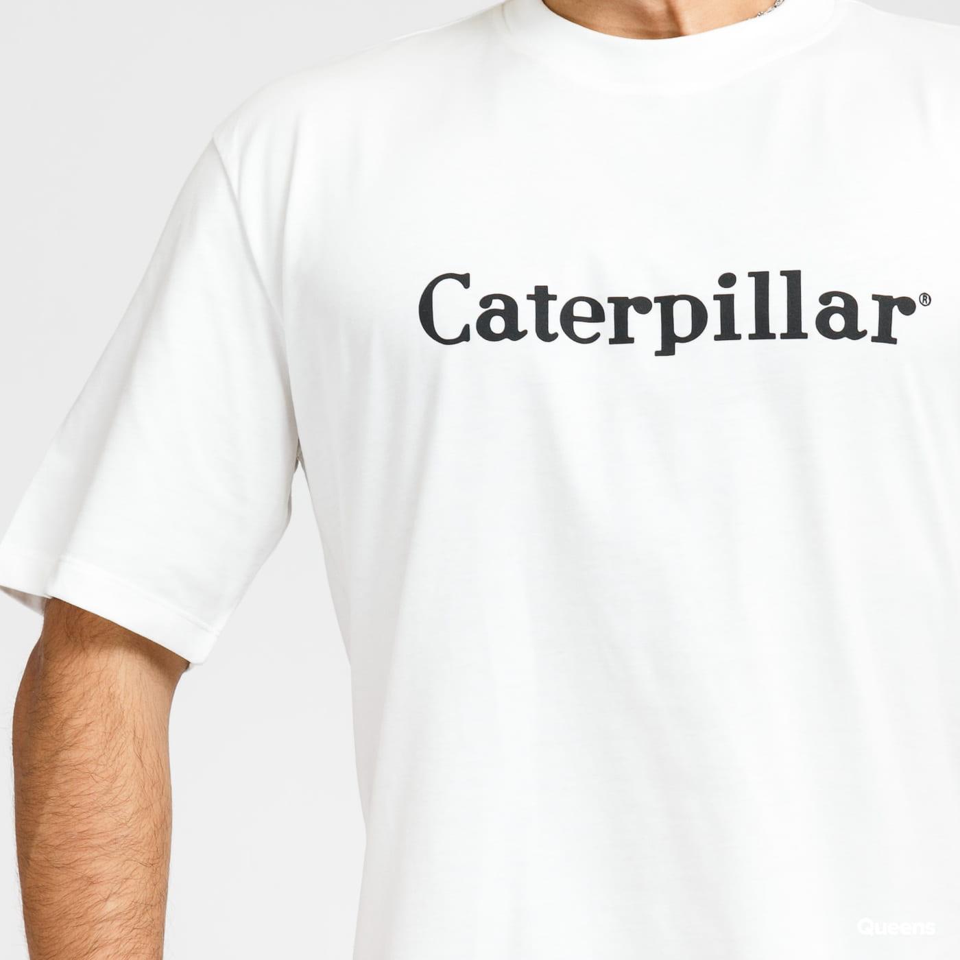 CATERPILLAR Basic Tee bílé
