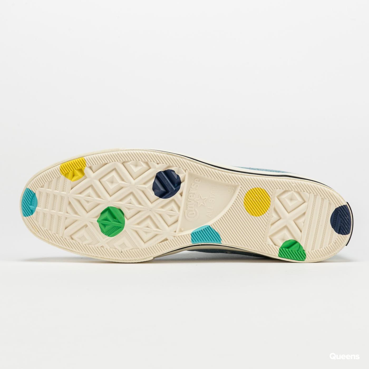 Converse Chuck 70 Hi - Golf Wang Polka Dot blue / egret / black