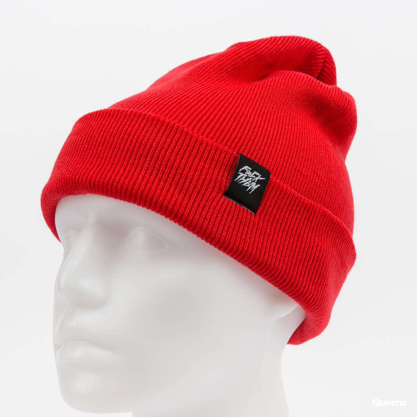 F*CK THEM 2-Style Beanie red
