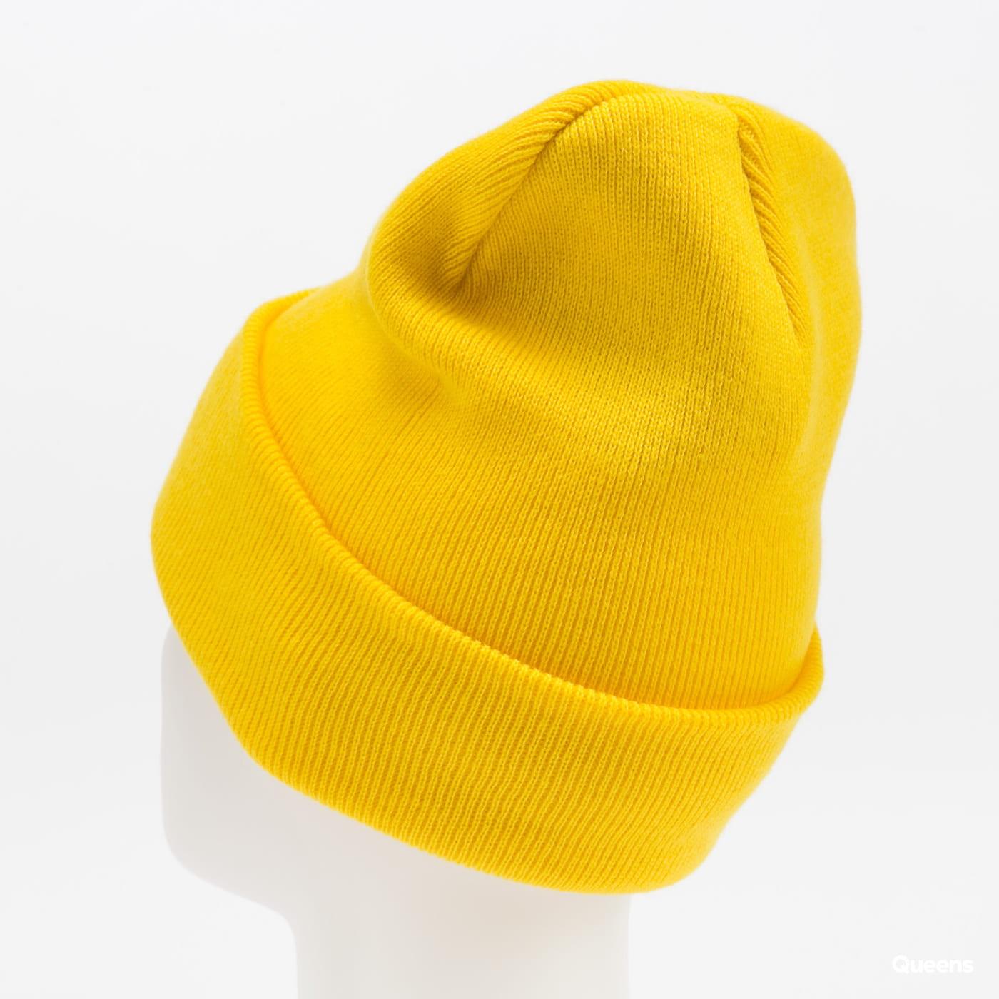 F*CK THEM Beanie žlutý