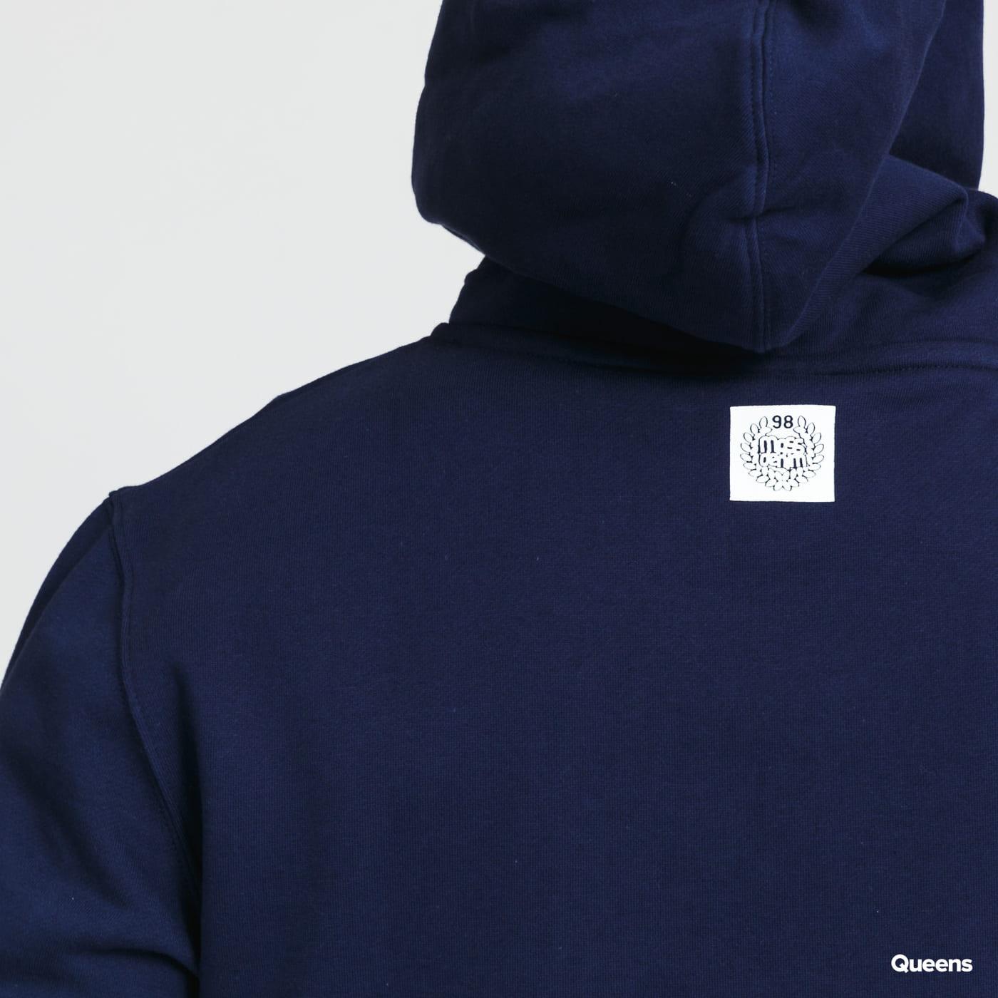 Mass DNM Base Small Logo Hoody blue / turquoise