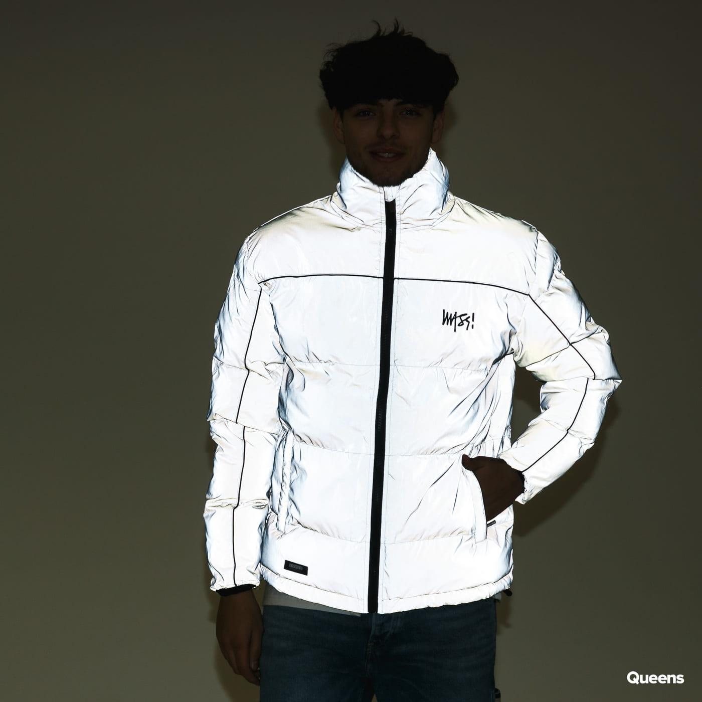 Mass DNM Ghost Jacket Reflective stříbrná