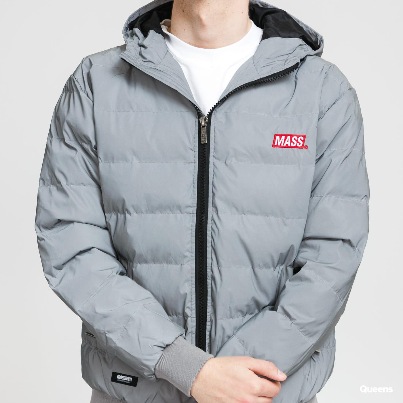 Mass DNM Minibox Jacket Reflective stříbrná
