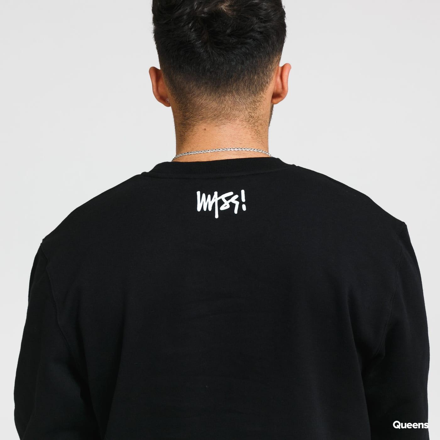Mass DNM Signature Small Logo Crewneck black