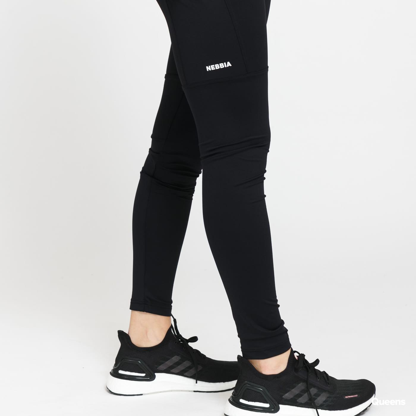 Nebbia High Waist Fit&Smart Leggings černé