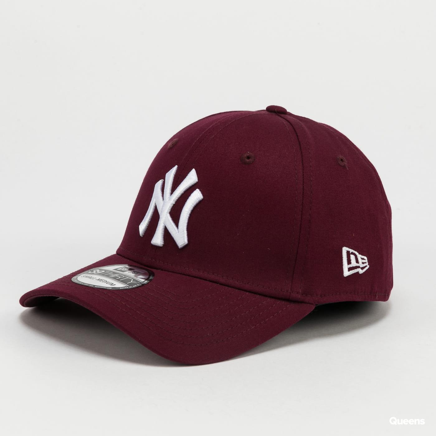 New Era 3930 MLB League Essential NY vínová
