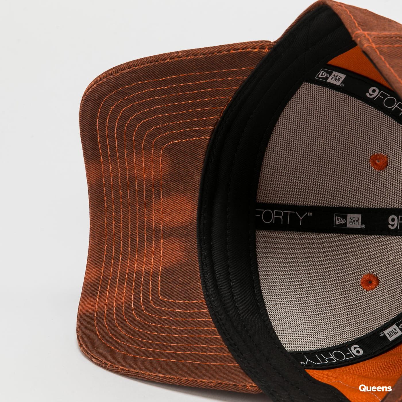 New Era 940 Colour Change melange tmavě oranžová / oranžová