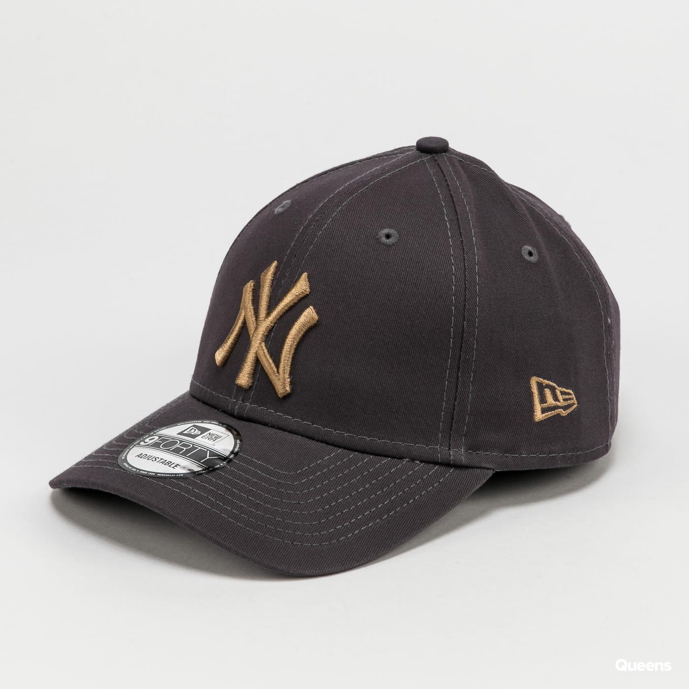 New Era 940 MLB Colour Essential NY tmavě šedá