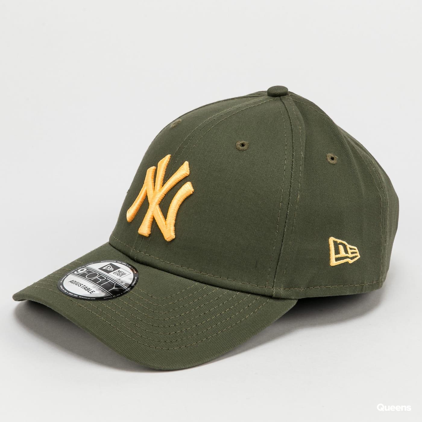 New Era 940 MLB Colour Essential NY olivová