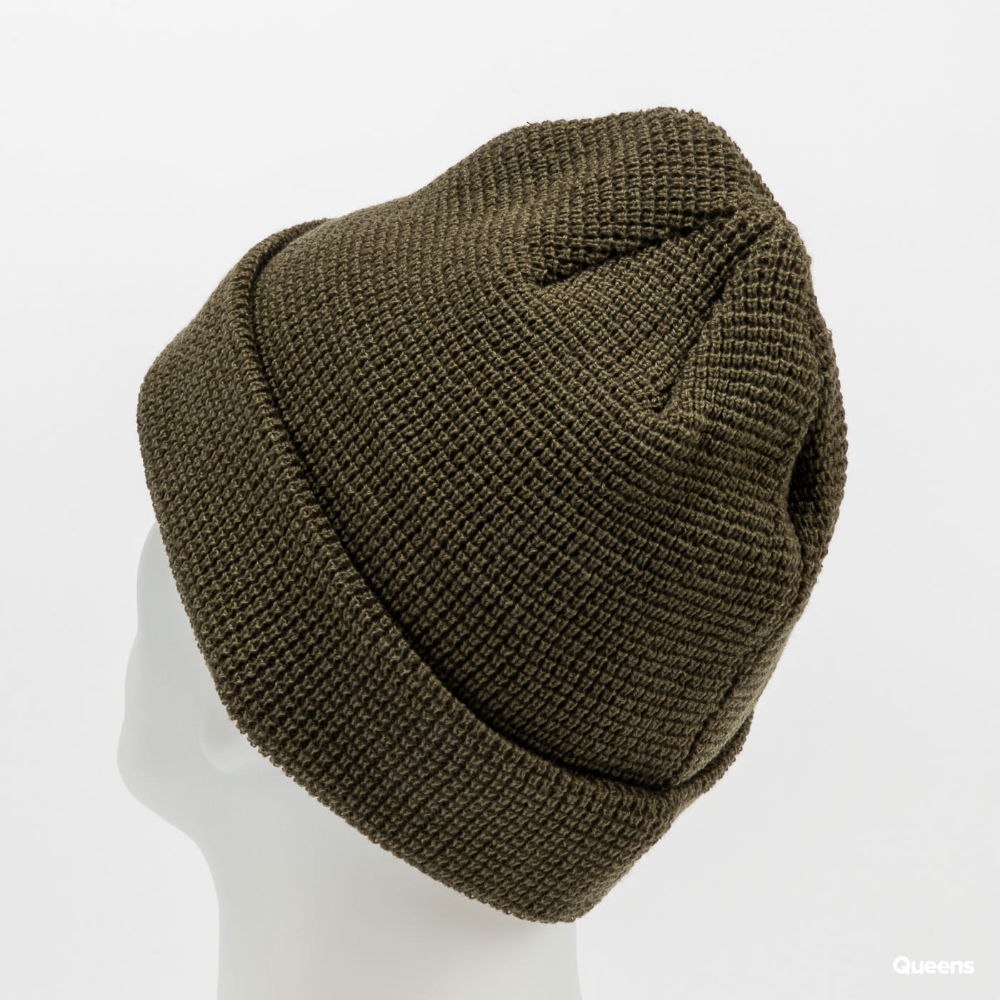 New Era Colour Waffle Knit New Era olive