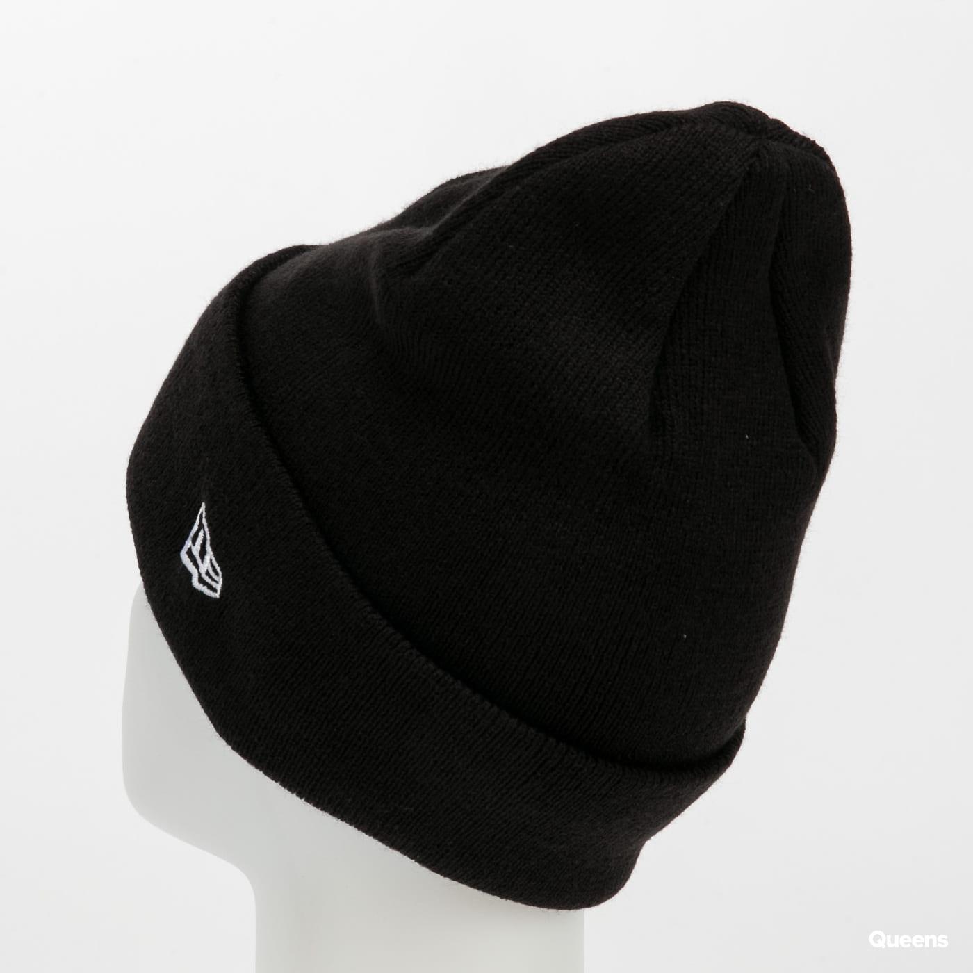 New Era Essential Cuff Knit New Era černý