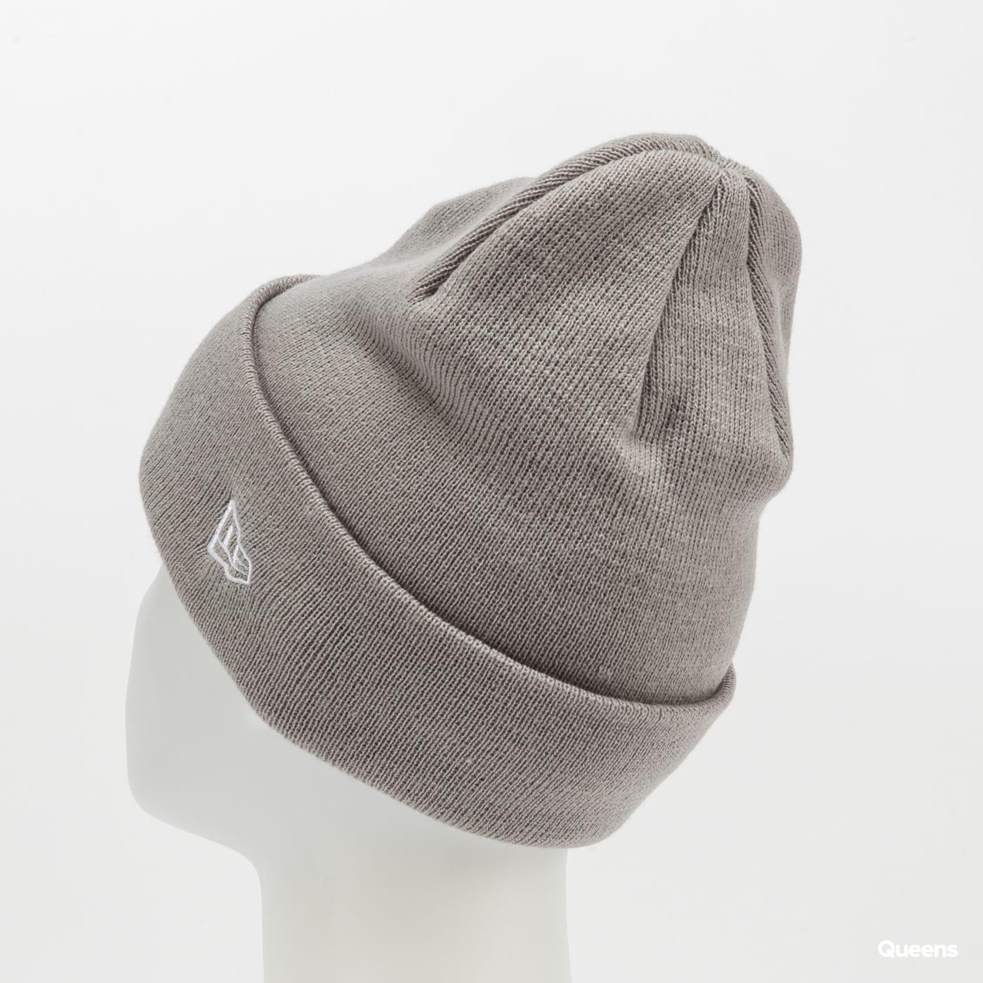 New Era Essential Knit Cuff New Era šedý
