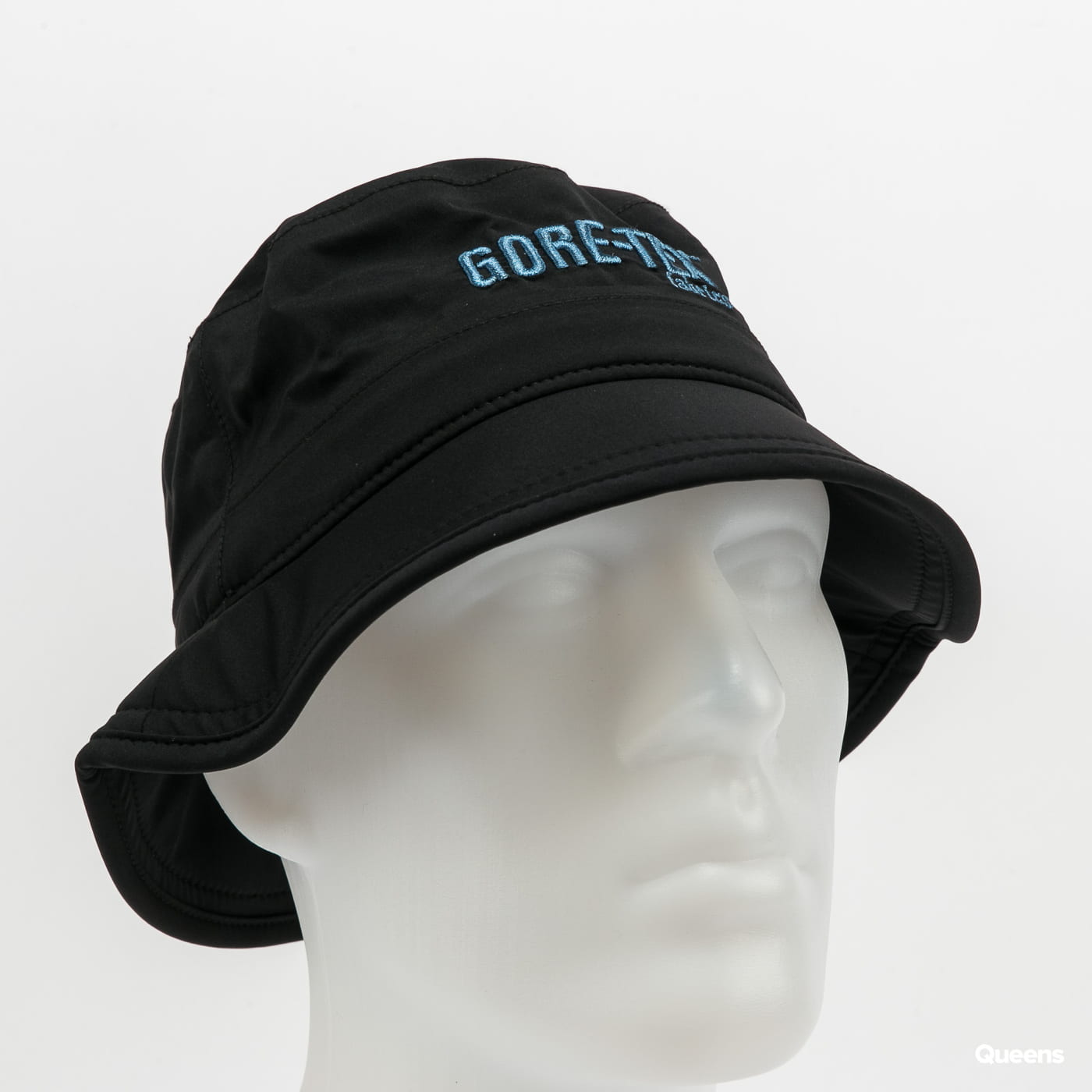 New Era Image Goretex Bucket černý / modrý