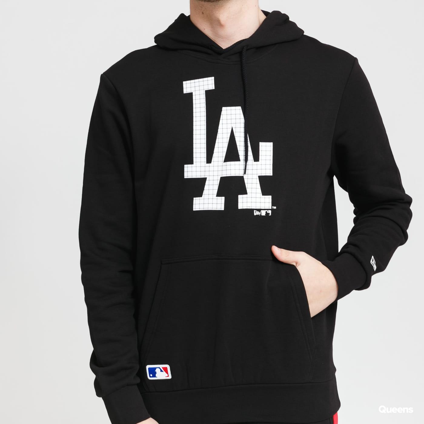 New Era MLB Infill Logo Hoody LA černá