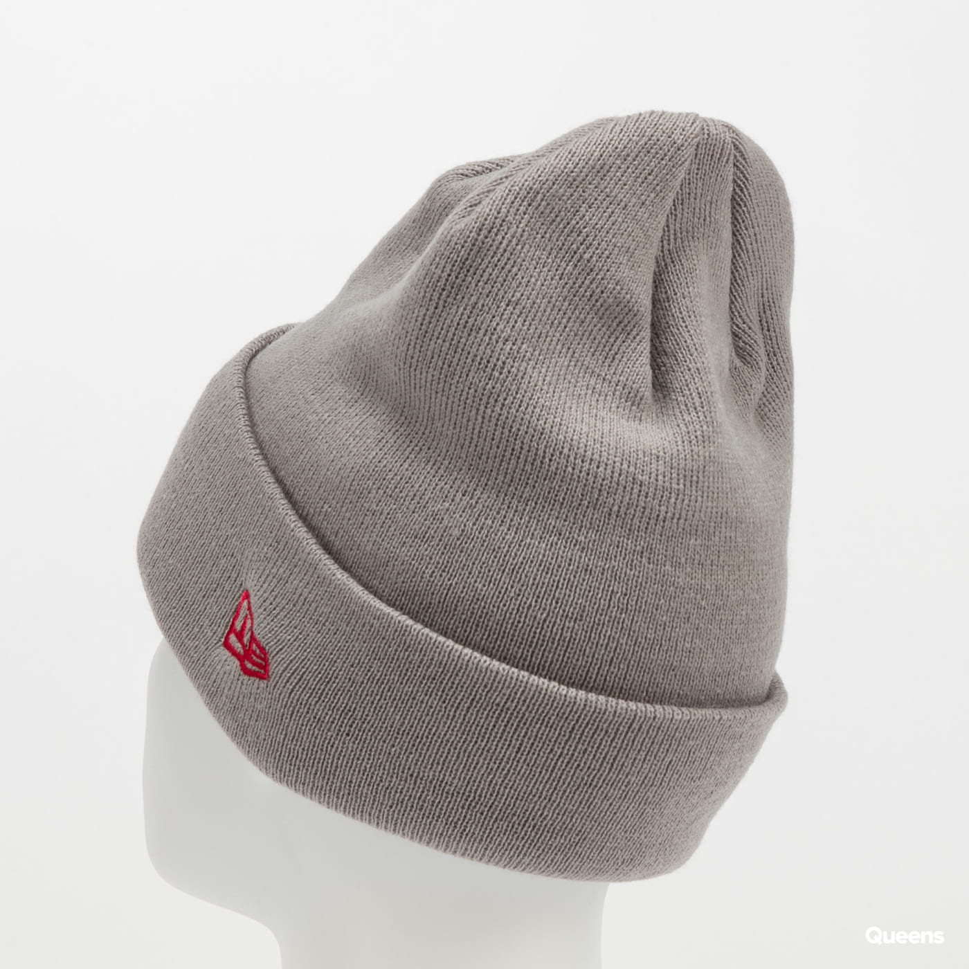 New Era MLB League Essential Cuff Knit NY šedý