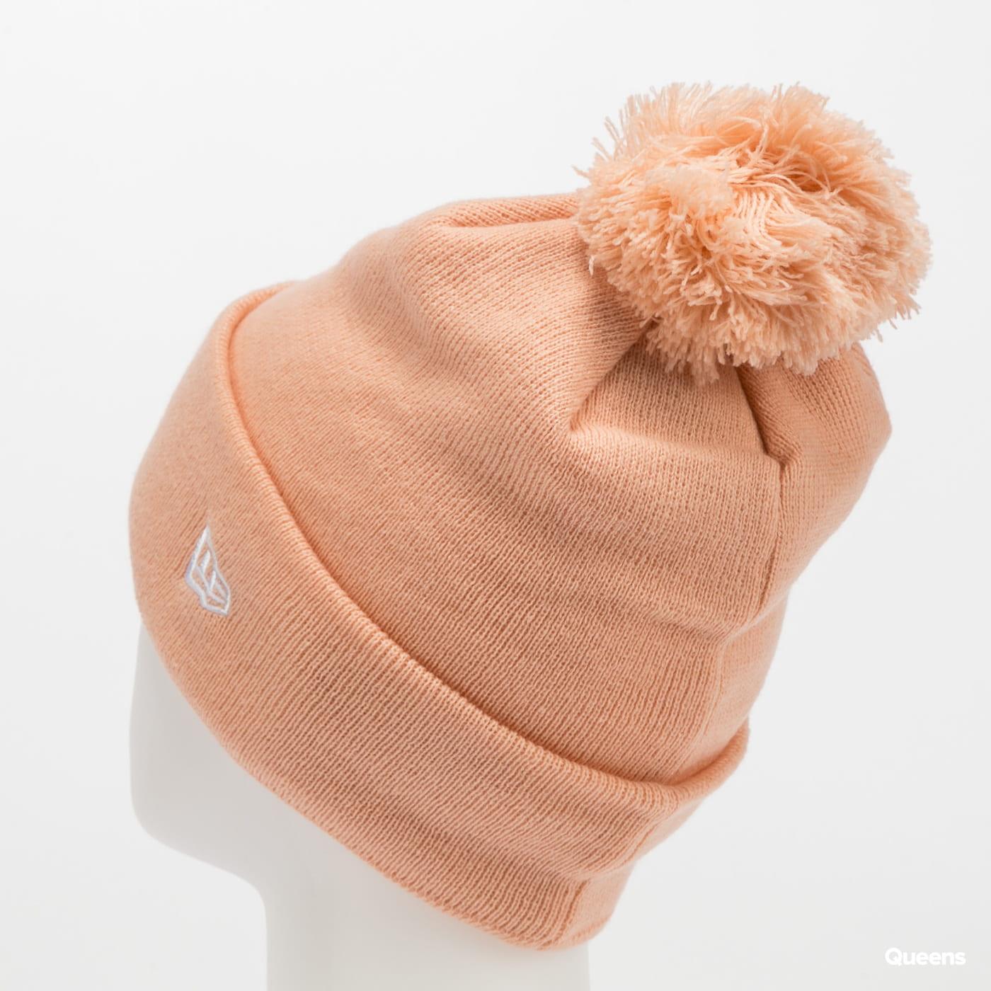New Era WMNS Bobble Knit NY růžový