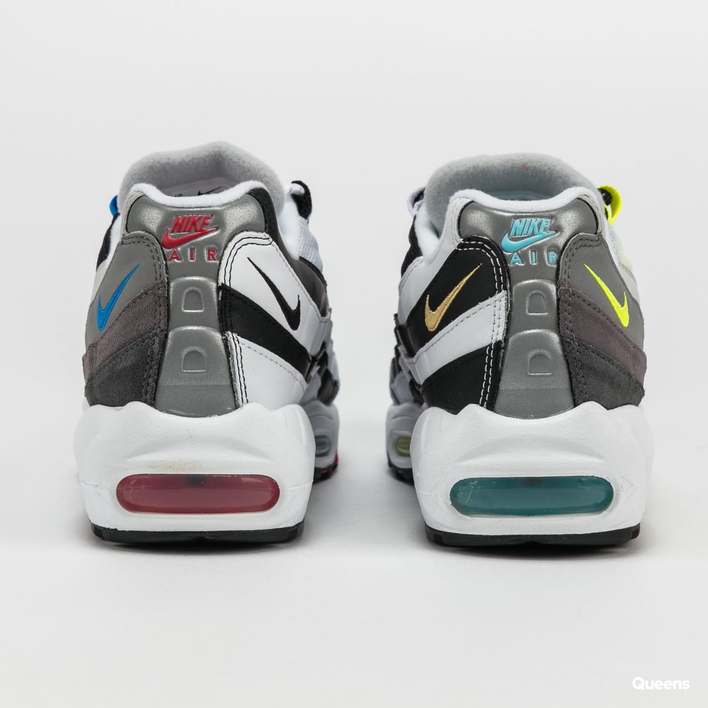 Nike Air Max 95 QS black / multi-color - gunsmoke