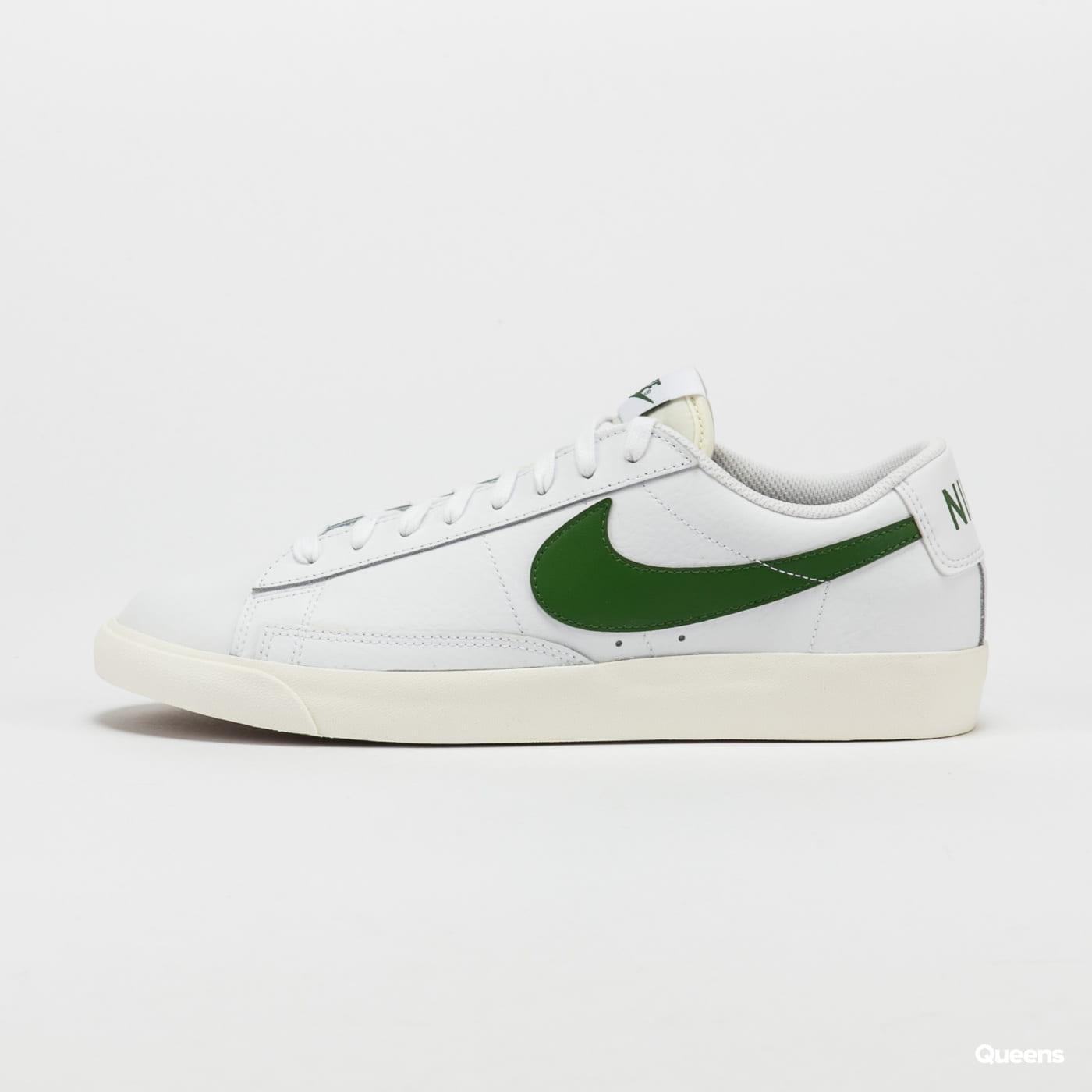 Nike Blazer Low Leather white / forest green - sail