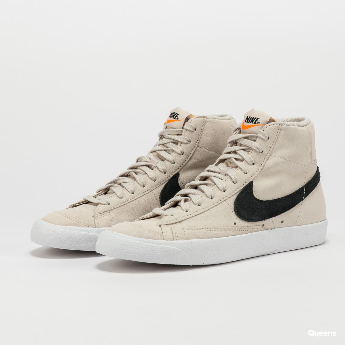 Sneakers Nike Blazer Mid '77 Suede lt orewood brn / black - white ...