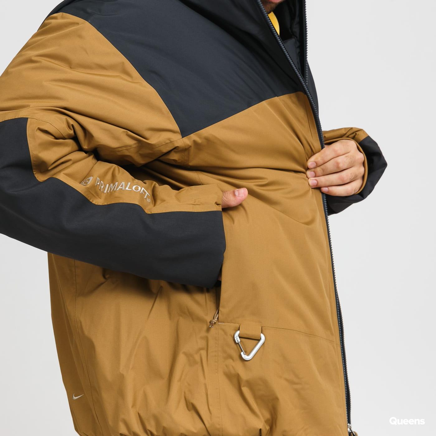 Nike M NGR ACG 4TH Horseman Jacket hnědá / černá