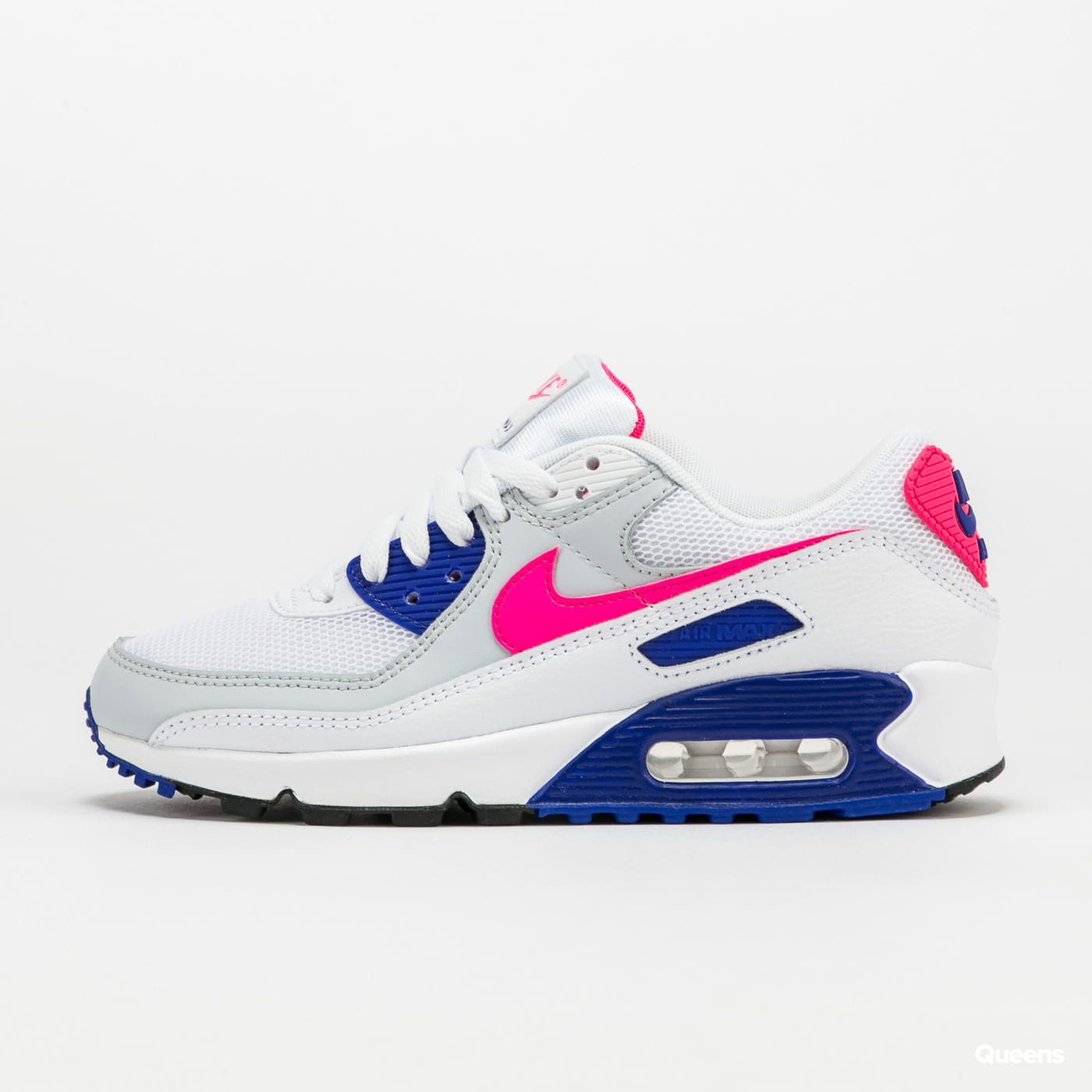 Nike WMNS Air Max 90 white / hyper pink - concord