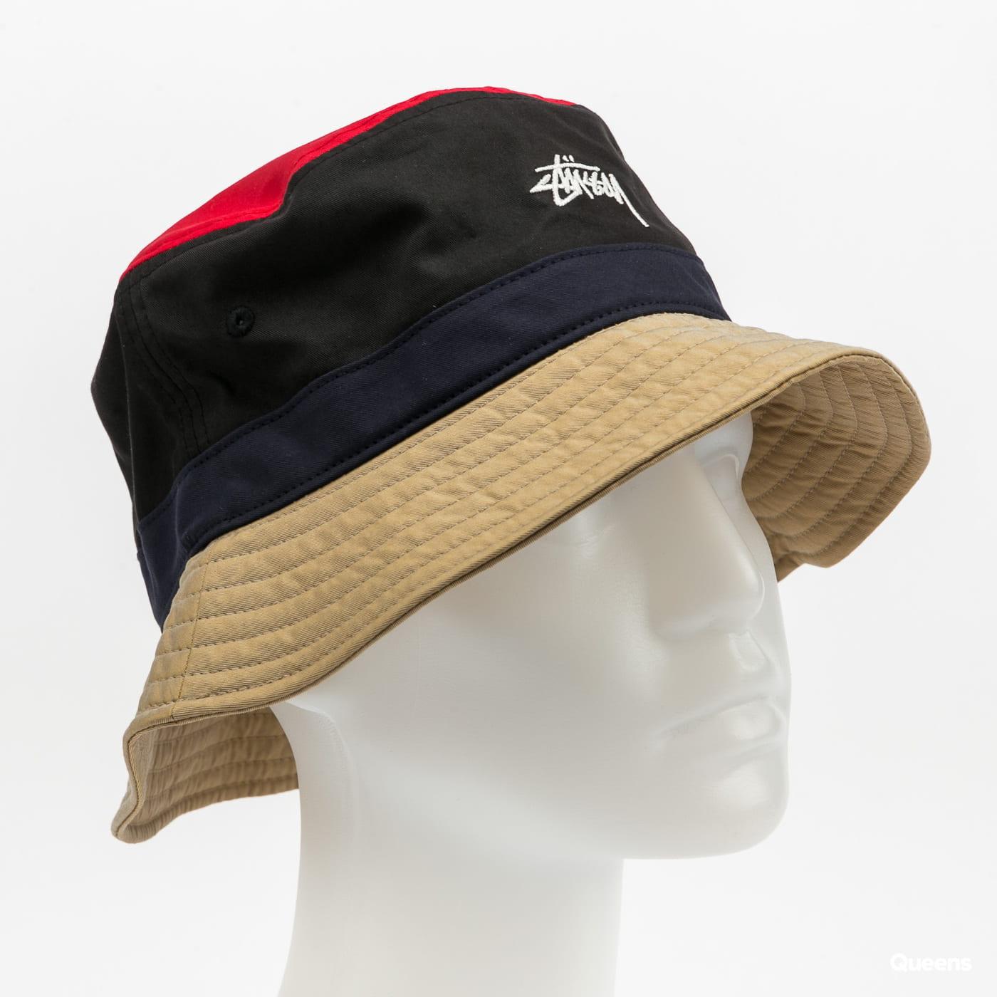 Stüssy Color Block Bucket Hat