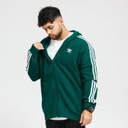 adidas Originals 3-Stripes FZ tmavě zelená / bílá