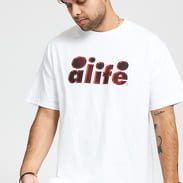 Alife 2Tone Bubble Graphic Tee bílé