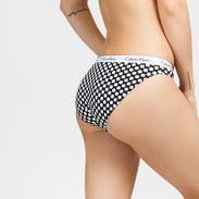 Calvin Klein Bikini - Slip 3 Pack růžové / modré / černé / bílé