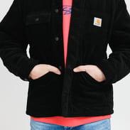 Carhartt WIP Corduroy Michigan Coat černý
