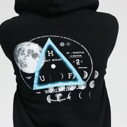 HUF Moons Hoodie černá