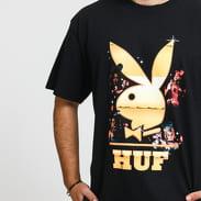 HUF Playboy Club Tour Tee černé