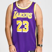 Jordan LA Lakers Swgmn Jersey Stmt 2 fialový / žlutý / bílý