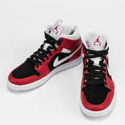 Jordan WMNS Air Jordan 1 Mid gym red / white - black